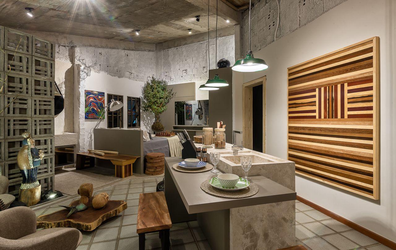 Balco rustico de madeira fabulous diversos loft rstico for Loft rustico