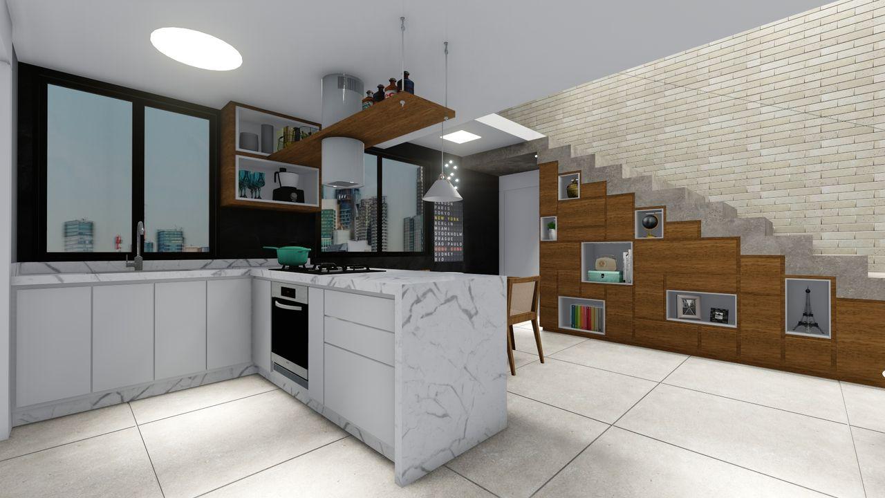 Cozinha Pequena De Kamilla Pimentel Matarangas 143613 No Viva Decora