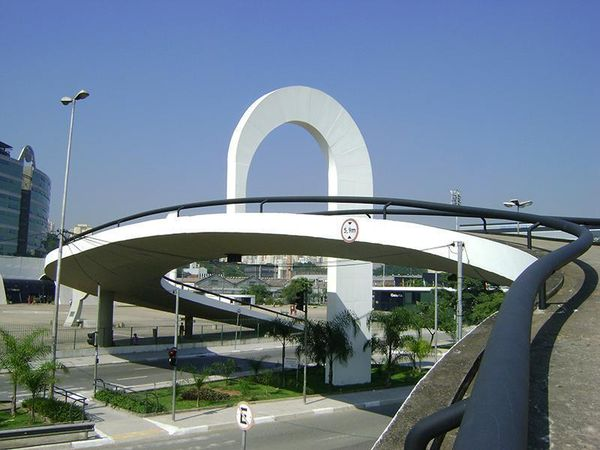 Obras de Oscar Niemeyer - Memorial da América Latina