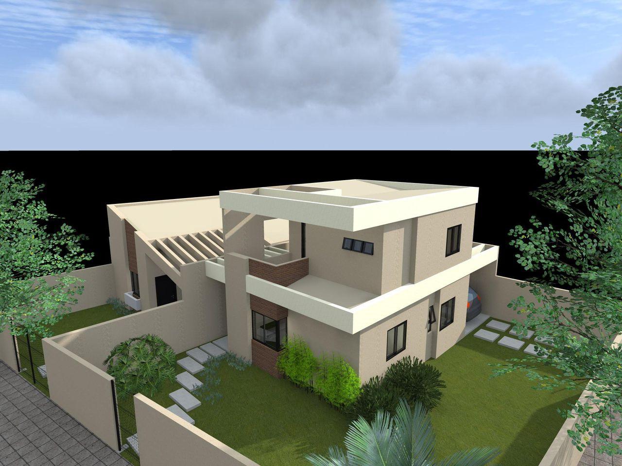 Casas Pequenas De Dois Andares Corredores Externos Casas