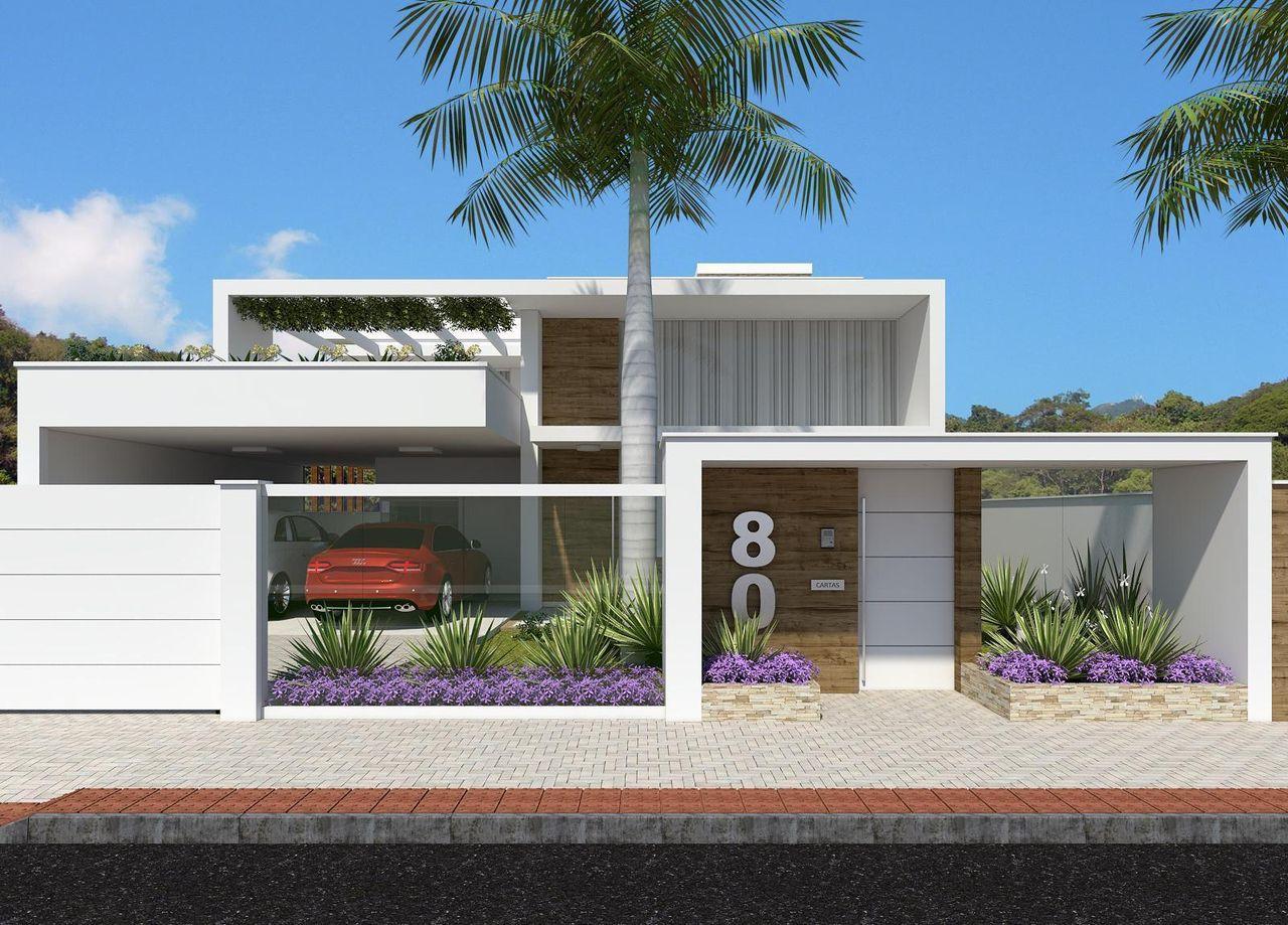 Photo collection fachadas de casas - Fachada casas modernas ...