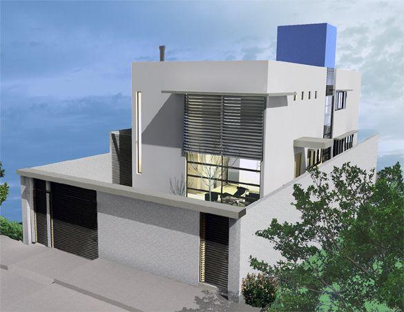 Pintura externa de casas cinza zt53 ivango - Pintura casa moderna ...