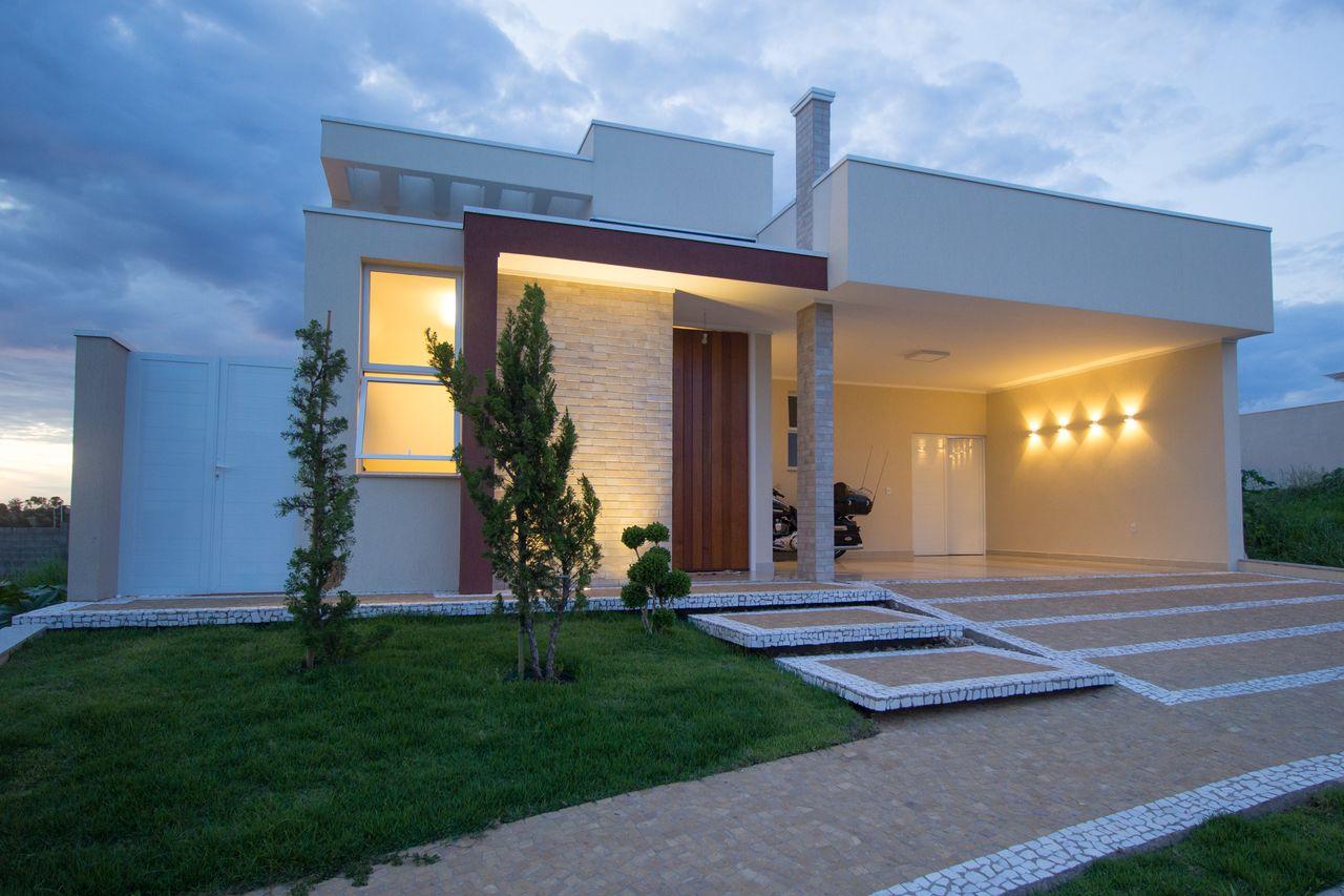 Fachada De Casa Com Garagem Hx56 Ivango