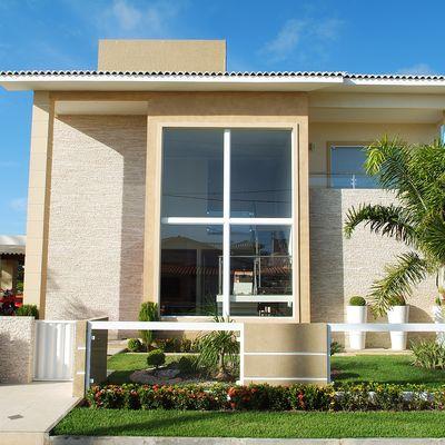 Casas fachadas colores para fachadas de casas feng shui casas container u fachadas para - Fachada de casa ...