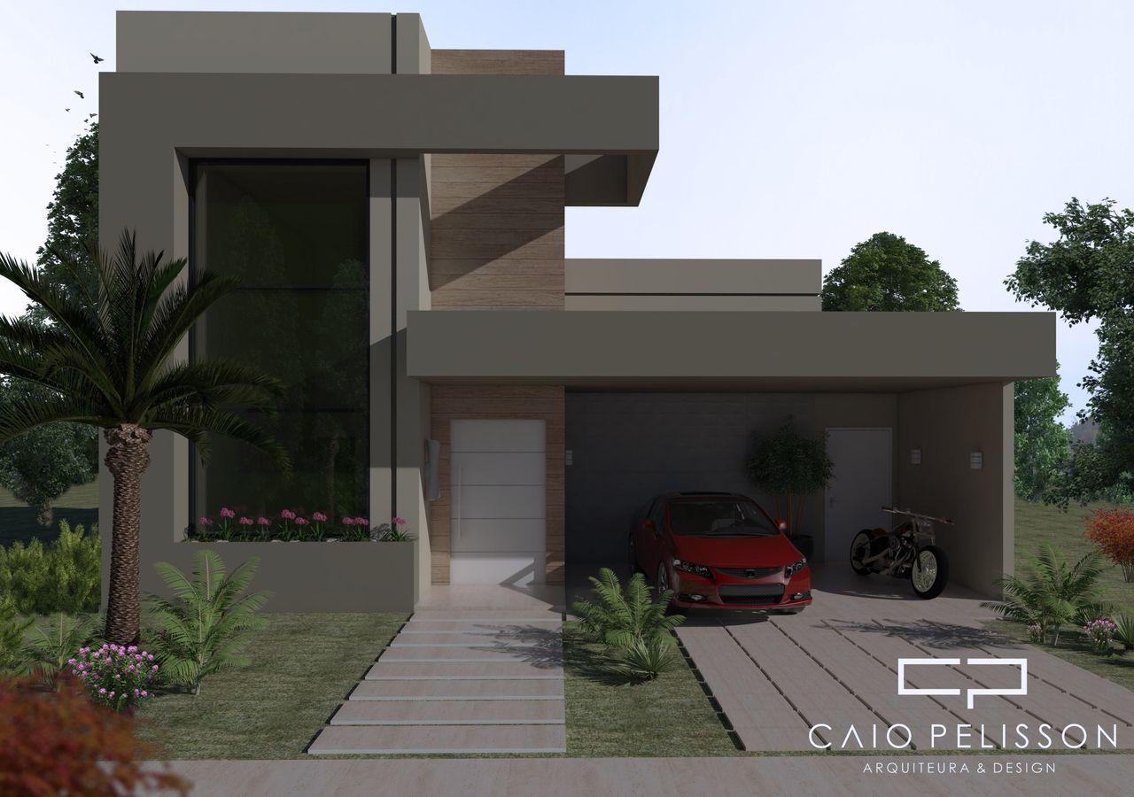 Planta casas modernas projeto d casa com quartos dise os for Fachadas modernas de casas de dos plantas