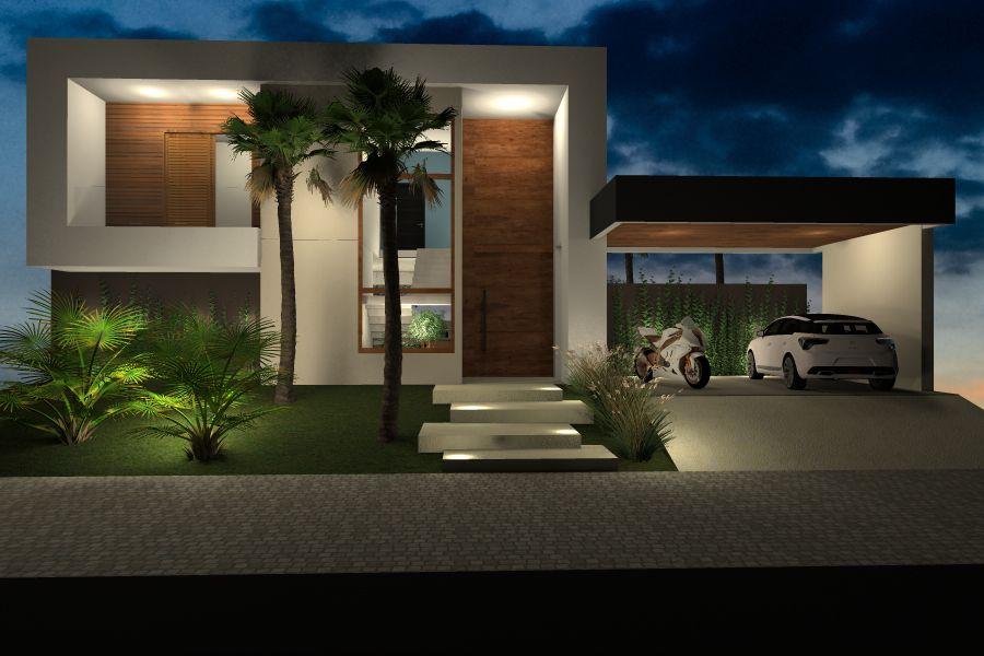 Fachada casa moderna imgenes de fachadas de casas - Fachadas de casa modernas ...