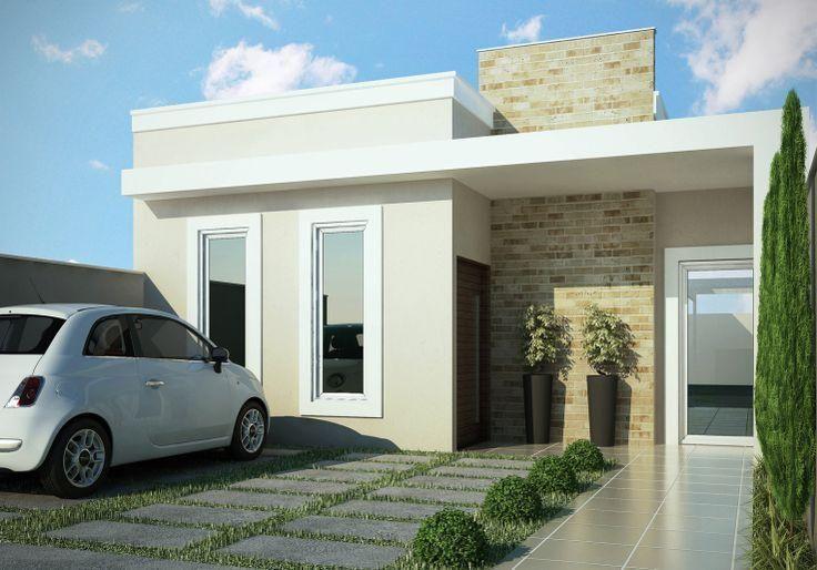fachada de casas pequenas - Fachadas De Casas Pequeas