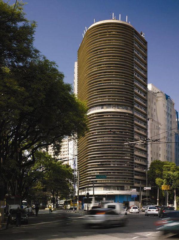 Obras de Oscar Niemeyer - Edificio Montreal